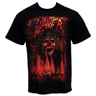 Metal T-Shirt men's Slayer - Wehrmacht - ROCK OFF - SLAYTEE08MB