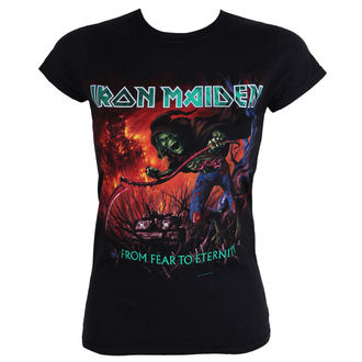 t-shirt metal women's Iron Maiden - - ROCK OFF - IMTEE20LB