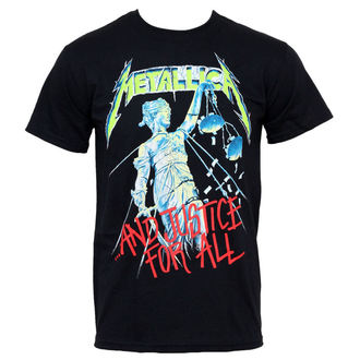 t-shirt metal men's Metallica - And Justice For All - NNM - RTMTLTSBAJU