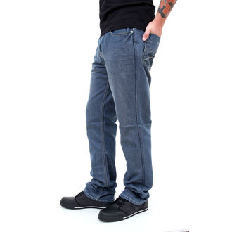 pants men -jeans- SLIM FIT - GLOBE - Coopar - GREY-BLUE