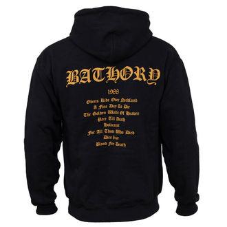 hoodie men's Bathory - Blood Fire Death - PLASTIC HEAD, PLASTIC HEAD, Bathory