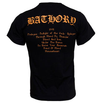Metal T-Shirt men's Bathory - Twilight Of The Gods - PLASTIC HEAD - PH5420