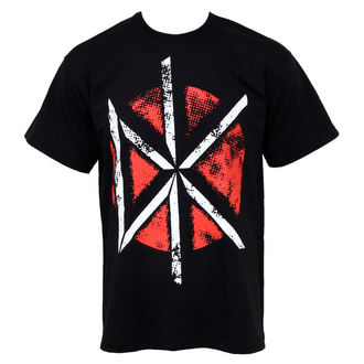 t-shirt metal men's Dead Kennedys - Distressed DK Logo - PLASTIC HEAD - PH5808