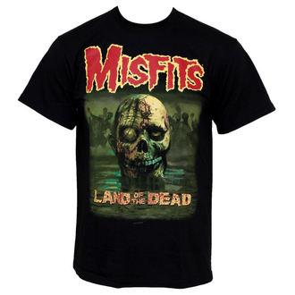t-shirt metal men's Misfits - Land Of The Dead - PLASTIC HEAD