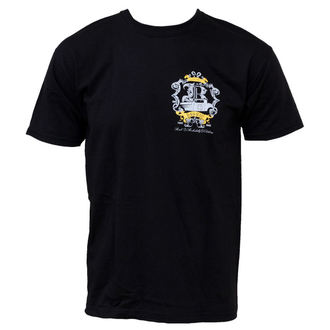 t-shirt street men's - Cruster - BLACK HEART - Cruster - Black