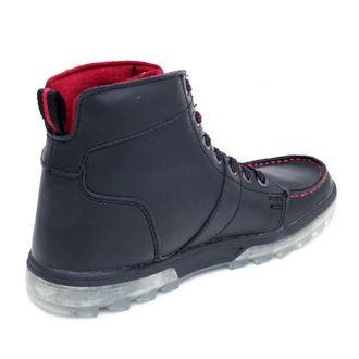 winter boots men's - DC - BLACK-RED