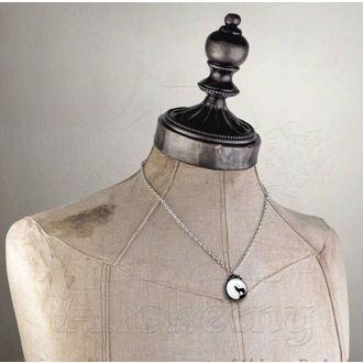 necklace Wolf - ALCHEMY GOTHIC - P252