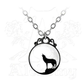 necklace Wolf - ALCHEMY GOTHIC - P252