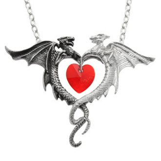 necklace Coeur Sauvage - ALCHEMY GOTHIC - P446