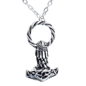 necklace Mjollnir - ALCHEMY GOTHIC - VAP2