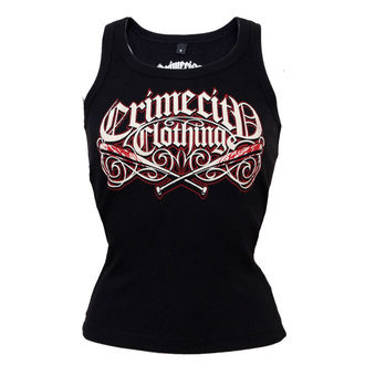 top women CRIME CITY CLOTHING - Crime City Clothing Logo - BW-001