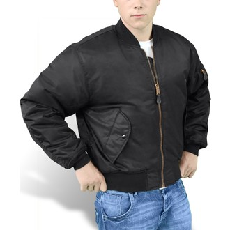 jacket SURPLUS - BOMBER MA1 - Black - 20-3503-03