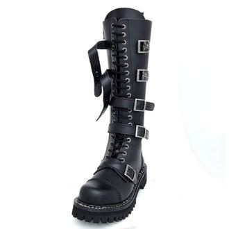 leather boots - KMM - Black-205