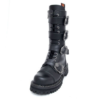 boots KMM 14Eyelet - Big Skulls Black Monster 4P, KMM