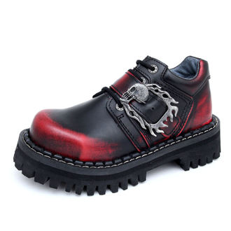 boots KMM 4-dírky - Big Skulls Black Red Monster 1P, KMM