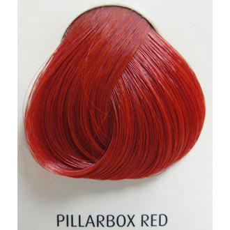 color to hair DIRECTIONS - Pillarbox Red