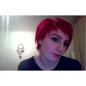 color to hair DIRECTIONS - Vermilion Red