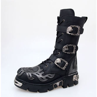 leather boots women's - NEW ROCK - M.711-S1