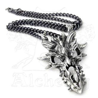 necklace Dragon Skull ALCHEMY GOTHIC - P625