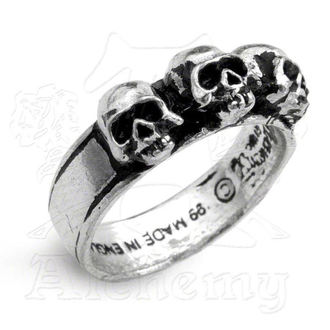 ring Caput Mortum - ALCHEMY GOTHIC - R72