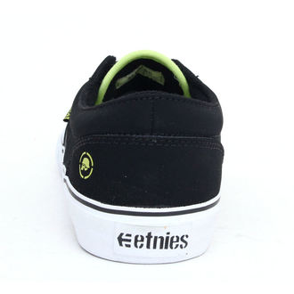 low sneakers men's - METAL MULISHA - BLACK-LIME