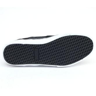 low sneakers men's - METAL MULISHA - BLACK-LIME