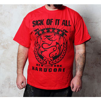 t-shirt metal men's Sick of it All - HC Crest - Buckaneer, Buckaneer, Sick of it All