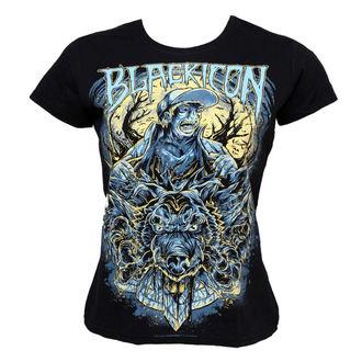 t-shirt hardcore women's - Wolf Sell - BLACK ICON, BLACK ICON