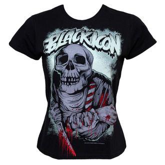 t-shirt hardcore women's - Eat - BLACK ICON, BLACK ICON