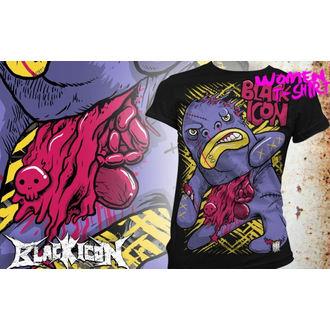 t-shirt hardcore women's - Bigmo - BLACK ICON, BLACK ICON