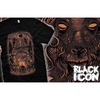 t-shirt hardcore men's - Baphomet - BLACK ICON, BLACK ICON