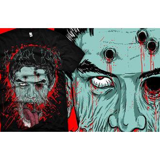 t-shirt hardcore men's - Face - BLACK ICON, BLACK ICON