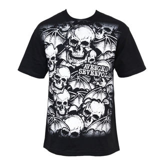 Metal T-Shirt men's Avenged Sevenfold - A/O White Deathbats - BRAVADO - 17952081