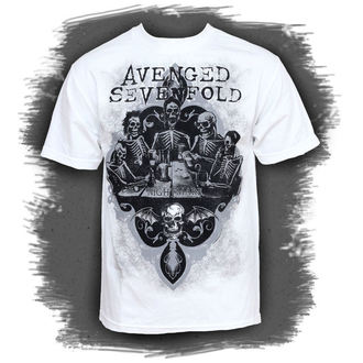 t-shirt metal men's Avenged Sevenfold - Bottoms Up - BRAVADO - AVN1235