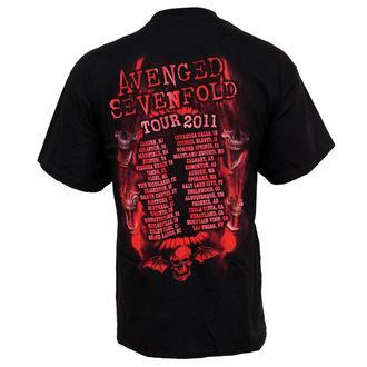 t-shirt metal men's Avenged Sevenfold - Flame Reaper Limited Tour - BRAVADO - AVN2121