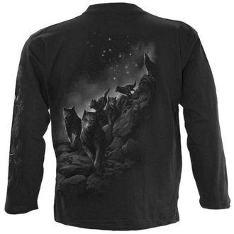 t-shirt men's - Wolf Pack Wrap - SPIRAL - D029M301