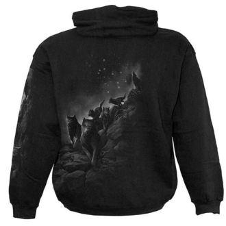 hoodie men's - Wolf Pack Wrap - SPIRAL - D029M451