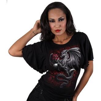 T-Shirt women's - Dragon Rose - SPIRAL - T055F719