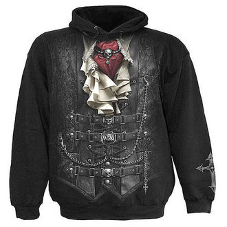 hoodie men's - Waisted - SPIRAL - T057M451