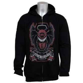 hoodie men's Bring Me The Horizon - Black Bat Zip - BRAVADO, BRAVADO, Bring Me The Horizon