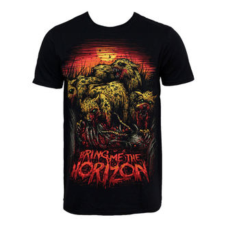t-shirt metal men's Bring Me The Horizon - Cheetah - BRAVADO, BRAVADO, Bring Me The Horizon