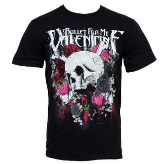 t-shirt metal men's Bullet For my Valentine - Skull And Roses - BRAVADO, BRAVADO, Bullet For my Valentine
