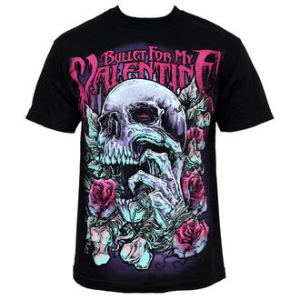 t-shirt metal men's Bullet For my Valentine - Skull RD - BRAVADO EU - BFMVTS02