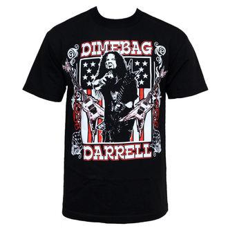 t-shirt metal men's Dimebag Darrell - Guitar Flag - BRAVADO, BRAVADO, Dimebag Darrell