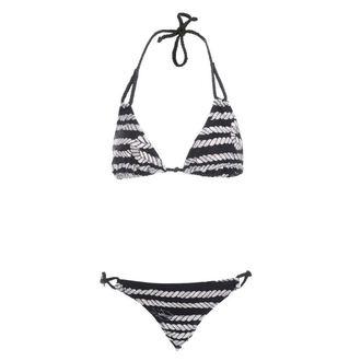 swimsuits women IRON FIST - Sink Me String - BLACK