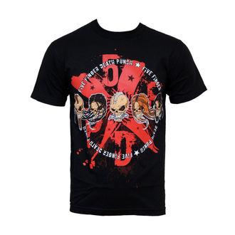 t-shirt metal men's Five Finger Death Punch - 5XFXDXPX - BRAVADO, BRAVADO, Five Finger Death Punch