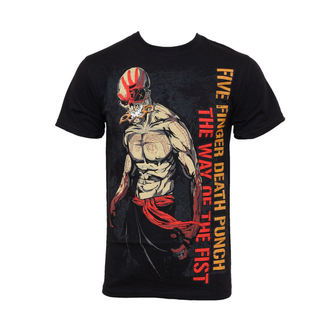 t-shirt metal men's Five Finger Death Punch - Wotf Ninja - BRAVADO, BRAVADO, Five Finger Death Punch