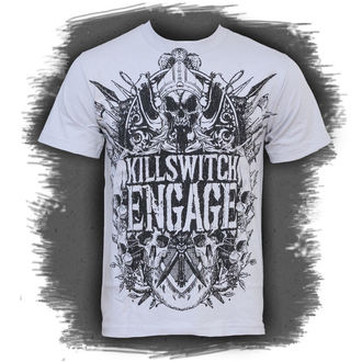 Metal T-Shirt men's Killswitch Engage - Medieval Crest - BRAVADO - 95141052