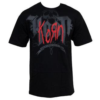 t-shirt metal men's Korn - Classic - BRAVADO, BRAVADO, Korn