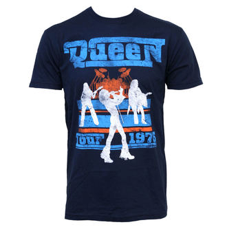 t-shirt metal men's Queen - Tour 76 - BRAVADO, BRAVADO, Queen
